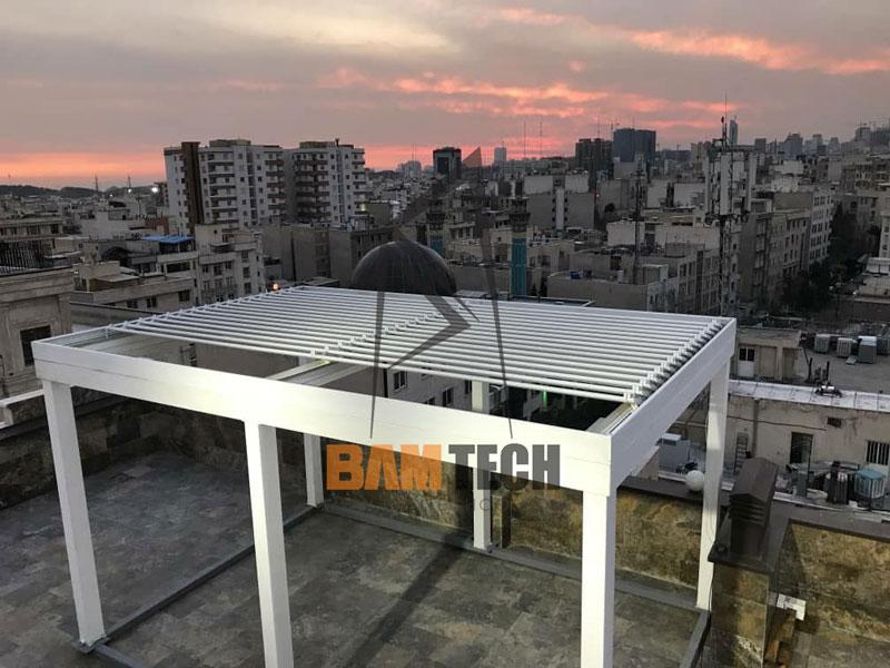 سقف متحرک برقی
